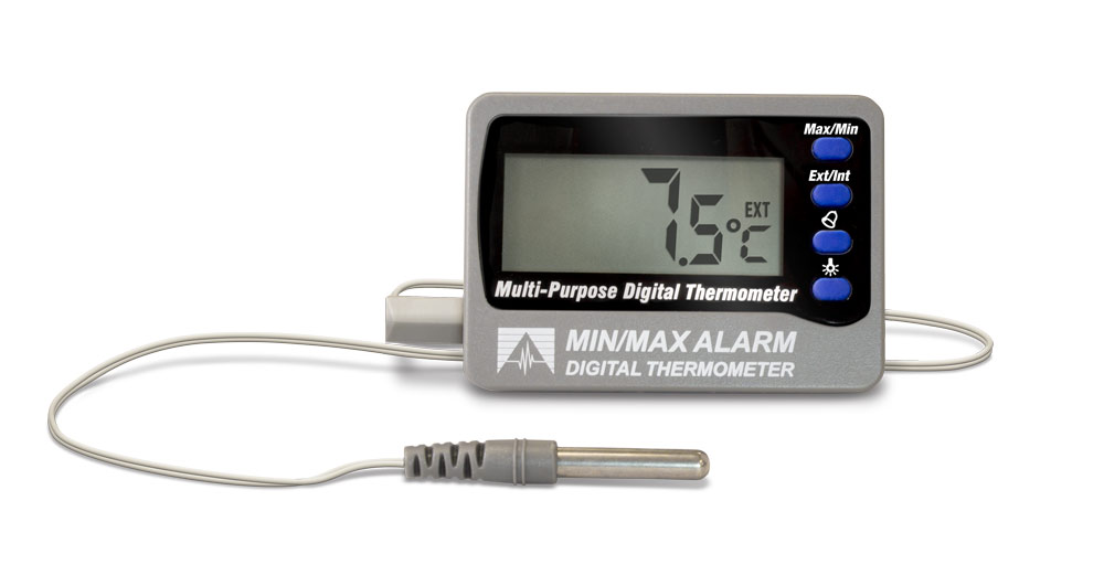 12207 Min/Max Alarm Digital Thermometer