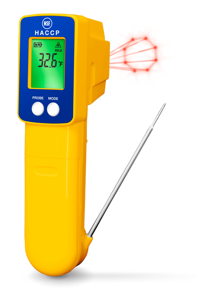 15039 ThermoTrace Infrared/Thermocouple Probe Combo Thermometer