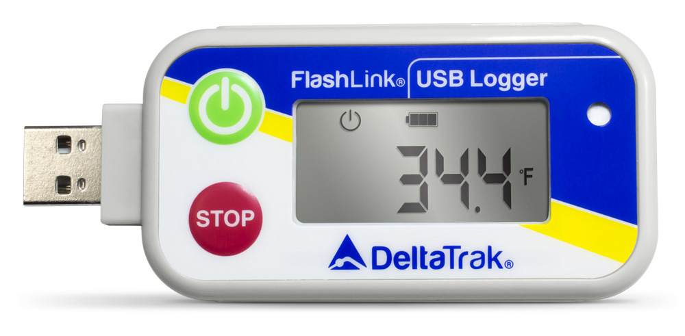 FlashLink USB Reusable Data Logger, Internal Temperature & Humidity Sensor, Model 20248