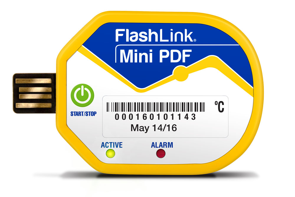 Mini PDF In-Transit Data Logger