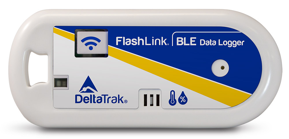 FlashLink BLE (Bluetooth Low Energy) Temperature and Humidity Data Logger, Model 40901