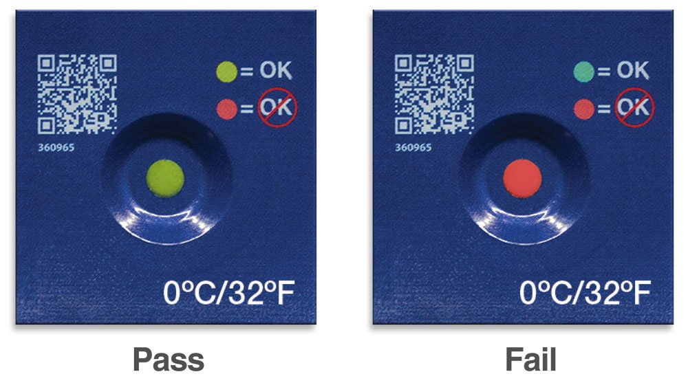 TempDot Freeze Indicator