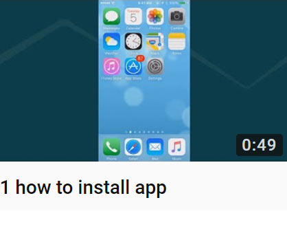 1 how to install app