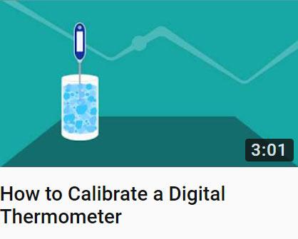 Probe Thermometer Calibration video