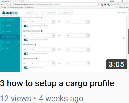 3 how to setup a cargo profile