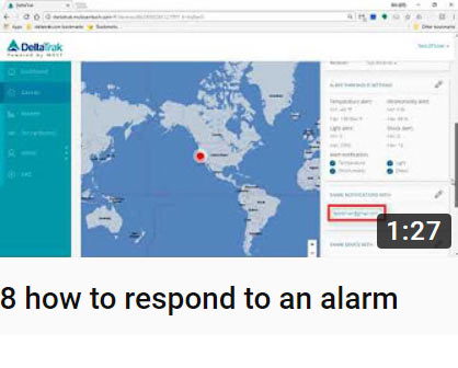 8 how to respond to an alarm